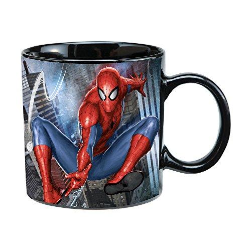Vandor Marvel Spider-Man 20 Oz Ceramic Heat Reactive Mug - 26662