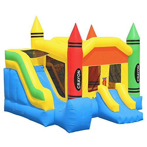 - Inflatable HQ Commercial Grade Bounce House 100% PVC Crayon Jump Inflatable Only