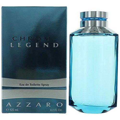 Chrome Legend By Loris Azzaro For Men  Eau De Toilette Spray 4 2 Ounce Bottle