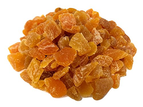 NUTS U.S. - Turkish Sun-Dried Whole Pitted Diced Apricots (3 LBS)