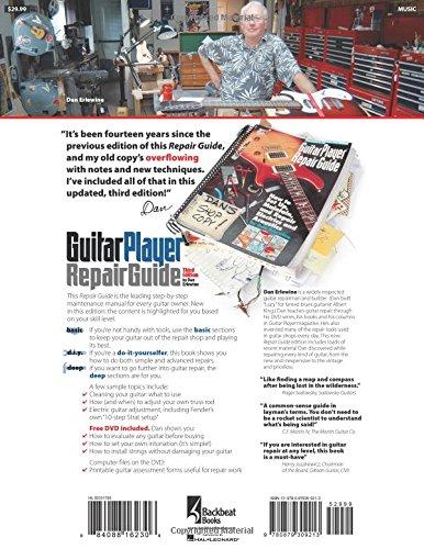 the guitar player repair guide 3rd dan erlewine 9780879309213 rh amazon com Do Yourself Guitar Repair Guitar Bridge Repair