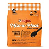 10 Pounds Dog Food - Sojos Mix-A-Meal Original Pre-Mix Dog Food, 10 Lb