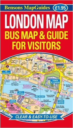 Download London Map: Bus Map and Guide for Visitors pdf