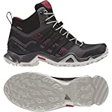 adidas Terrex Swift R Mid GTX Women's Hiking Shoe-Black/Black/Tactile Pink-9.5
