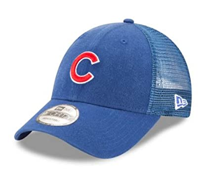 35dcd0c7aa5b9 Image Unavailable. Image not available for. Color  New Era MLB Chicago Cubs  Trucker 9Forty Adjustable Baseball Hat ...