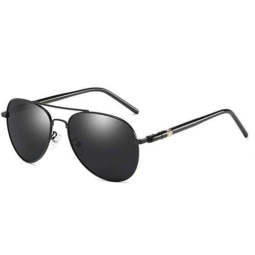 f961dcb9ddb2 Image Unavailable. Image not available for. Color  Arichtop Coolsir Men  Polarized Sunglass UV400 Protection Eyewear Full Glare Barrier Driving  Eyeglasses ...
