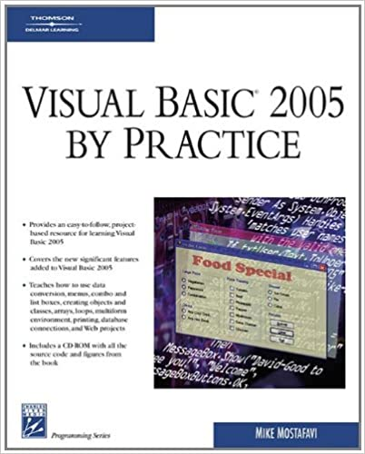 Visual Basic 2005 By Practice (Programming Series): Mike