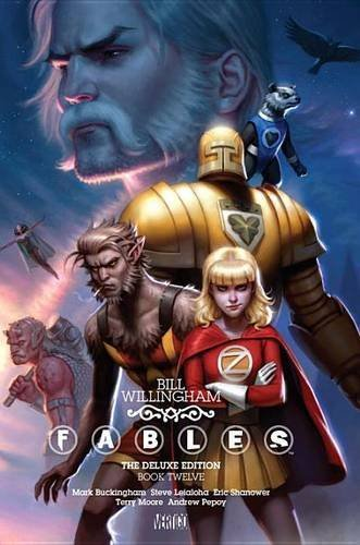 Fables Deluxe Book Twelve Editions product image