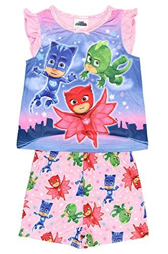 PJ Masks Girls Shorts Pajamas (Toddler)