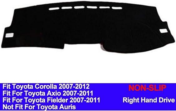 1816-00-25 DashMat Original Dashboard Cover Toyota Corolla Premium Carpet, Black