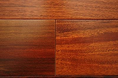 "Kingsport Brazilian Ipe Classic 3/8"" x 3-1/2"" Exotic Engineered Hardwood Flooring AF048 SAMPLE"