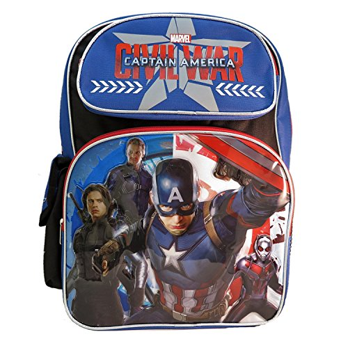 Ruz Captain America Civil War Backpack Bag