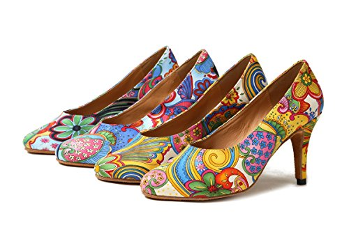 8 Minitoo Heel Da 5cm Sala Yellow Donna xq0UZ0fw6
