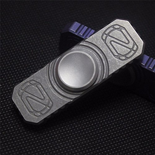 [G.MD 1PC EDC Titanium Alloy Hand Fidget Spinner Fingertip Gyroscope Anti Stress Toys] (Homemade Kids Soldier Costumes)