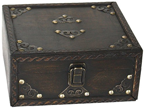 Vintiquewise TM Pirate Style Treasure Chest, Small by Vintiquewise
