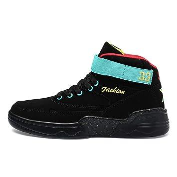 2d74c4449fe YAN Zapatos de Hombre Zapatos de Cubierta de otoño y Invierno de Cuero  Zapatos de tacón Alto Zapatos de la Novedad Zapatos para Caminar  Casuales Diarios  ...