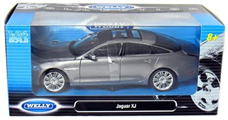 2010 Jaguar XJ Coupe 1:24 Scale (Grey)