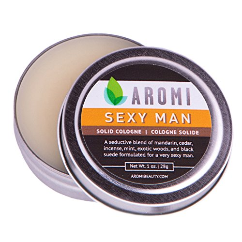 Sexy Man Men's Solid Cologne by Aromi - 1oz. vegan cologne by Aromi