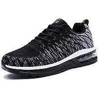 PENGCHENG Men Women Air Cushion Running Shoes Casual Athletic Walking Tennis Sneakers