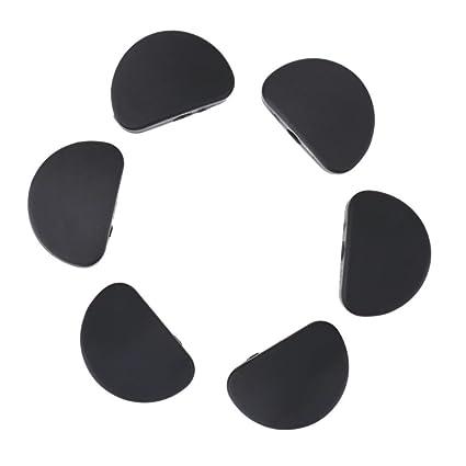 Trendyest - Juego de 6 piezas de cabezales para guitarra eléctrica acústica y bajo
