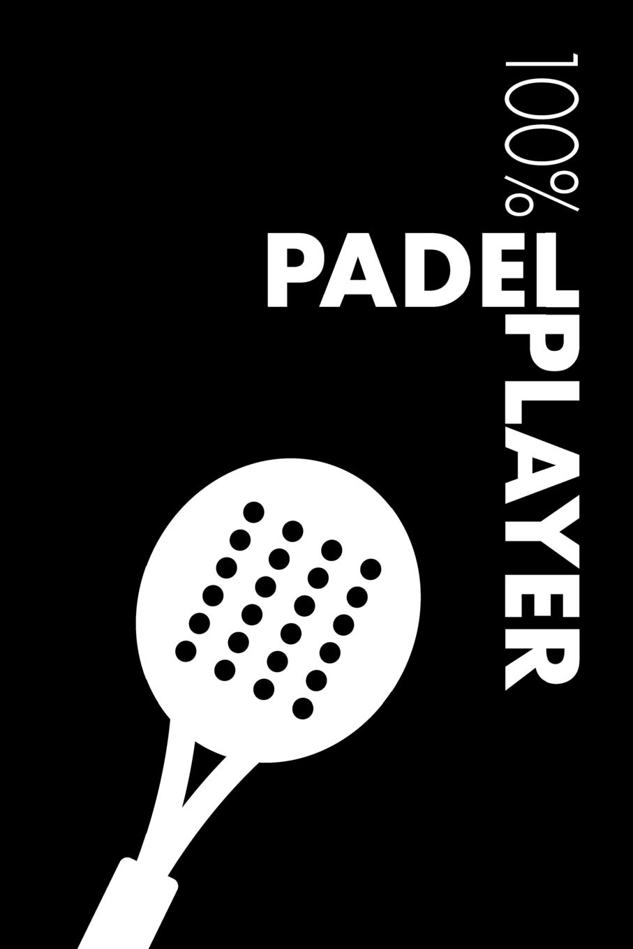 Padel Player Notebook: Blank Lined Padel Journal For Player and ...