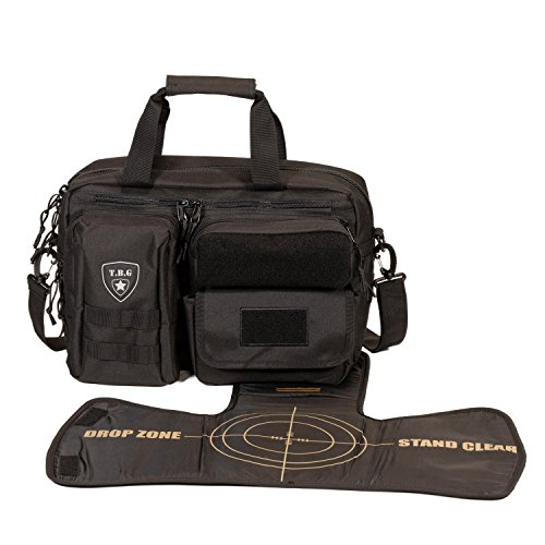 Tactical Baby Gear Deuce 2.0 Tactical Diaper Bag with Changing Mat (Black) from Tactical Baby Gear