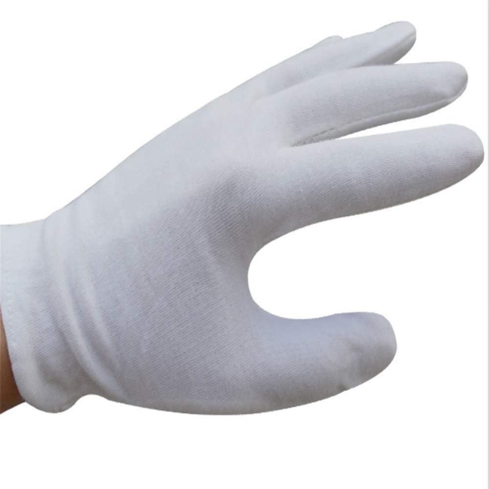 Vale la Pena Comprar Guantes de algodón de mano suave Guantes de ...