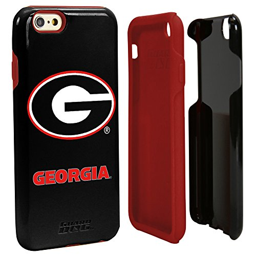 Guard Dog NCAA Georgia Bulldogs Hybrid iPhone 6 Case, Black, One Size