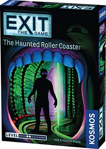 [해외]Exit: 유령의 롤러 코스터 | Exit: The Game - Thames & Kosmos 의 코스모스 게임 | 가족 친화적 카드 기반 홈 이스케이프 룸 경험 1  4 플레이어 10 세 이상 / Exit: The Haunted Roller Coaster | Exit: The Game - A Kosmos Game from Thames & K...