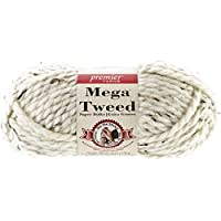 Premier Yarns Mega Tweed Yarn, Cream