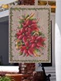 Poinsettias Christmas Decorative House Flag Review