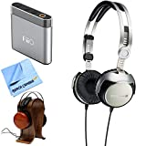 Beyerdynamic T51i Portable Tesla Hi-Fi Headphones Apple-Certified Remote & Mic (715603) with A1 Portable Headphone Amplifier Silver Bundle