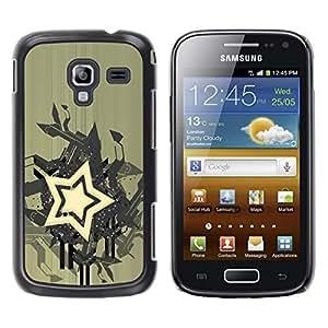 Be Good Phone Accessory // Dura Cáscara cubierta Protectora Caso Carcasa Funda de Protección para Samsung Galaxy Ace 2 I8160 Ace II X S7560M // Star Abstract Art