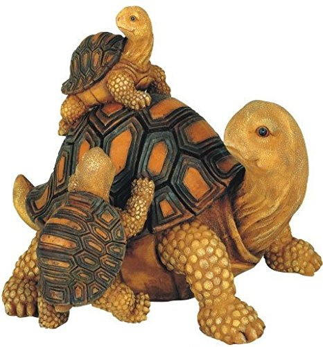 GSC SS-G-61061 Turtle Family Figure, 7-Inch (Snapping Turtle Shell)