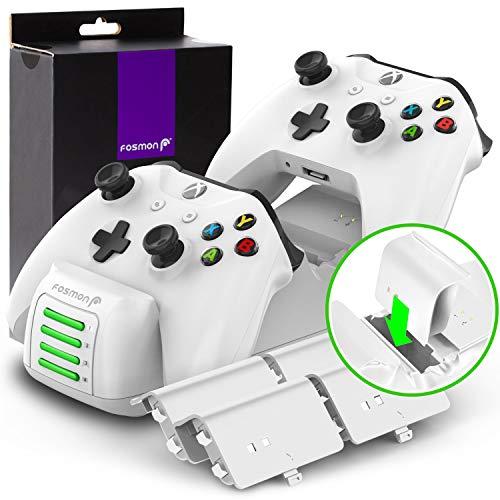 Estación de carga de doble base Xbox One  One X  One S Elite