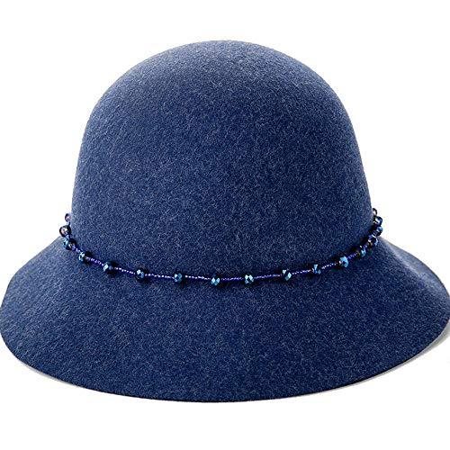 Fedora De Sombrero Lana Junbo Moda Cúpula B BZ8w5qp
