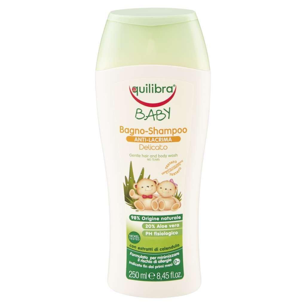 Equilibra Bagno Shampoo Anti Lacrima Delicato - 1 Prodotto Equilibra S.r.l. 8000137012978