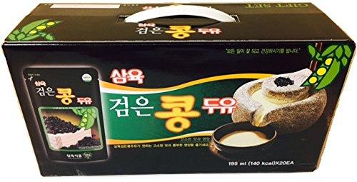 Sahmyook Black Bean Soy Milk, 6.5 Fl. Ounce (Pack of 20)