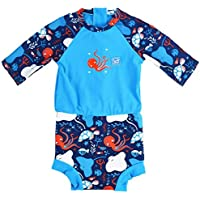 Splash About Baby Happy Nappy Sunsuit, Under The Sea, 12-24 Months