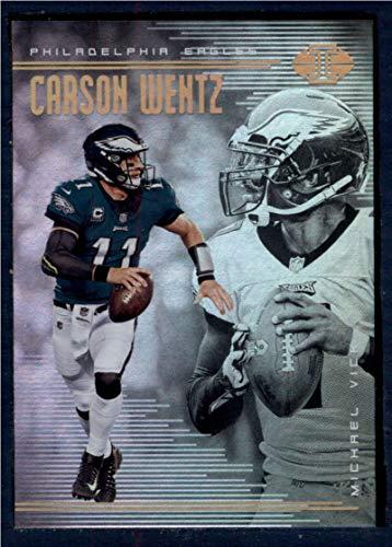 - 2018 Panini Illusions #79 Carson Wentz/Michael Vick NM-MT Philadelphia Eagles Football