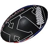 All Blacks - Balón de rugby oficial de la selección de Nueva Zelanda (talla 5)