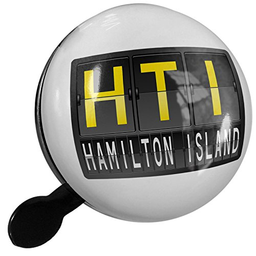 Small Bike Bell HTI Airport Code for Hamilton Island - NEONBLOND