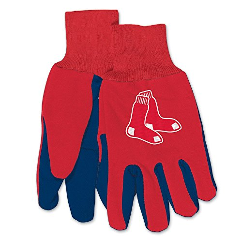 WinCraft MLB Boston Red Sox Two-Tone Gloves, 2-Pack, - Sox Mlb Gloves