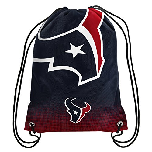 Forever Collectibles NFL Unisex Gradient Drawstring Backpackgradient Drawstring Backpack, Houston Texans, Standard