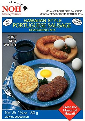 NOH Portuguese Sausage, 1.125-Ounce Packet, (Pack of -