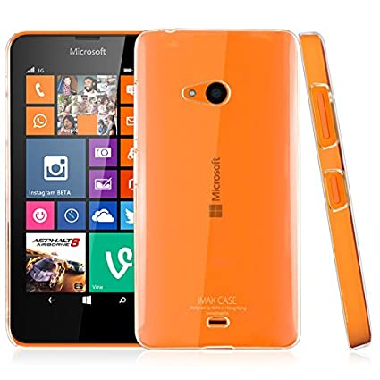 separation shoes c4edd f574e Thinkzy Soft Silicon Back Case Cover for Microsoft Lumia 540 (Transparent)