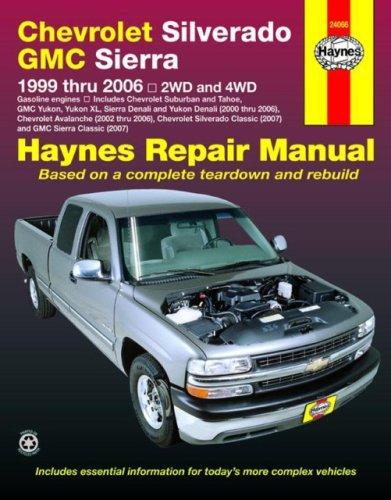 haynes chevrolet silverado gmc sierra 1999 thru 2006 2wd 4wd rh amazon com 2003 Chevy 1999 Chevy Silverado