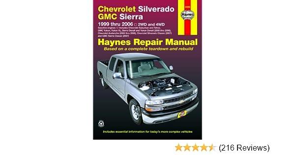 Haynes chevrolet silverado gmc sierra 1999 thru 20062wd 4wd haynes chevrolet silverado gmc sierra 1999 thru 20062wd 4wd haynes repair manual haynes 0038345240669 amazon books fandeluxe Gallery