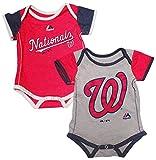 Majestic Washington Nationals Baby/Infant 2 Piece Creeper Set
