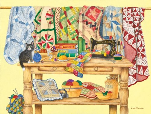 quilting board game - 9